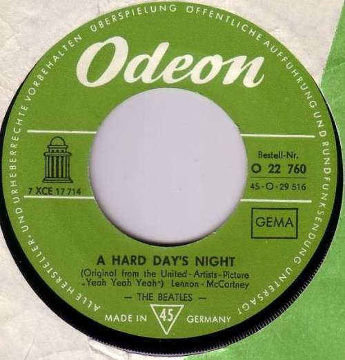 Bild The Beatles - A Hard Day's Night (7, Single) Schallplatten Ankauf