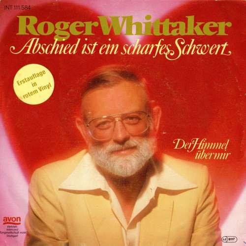 Cover zu Roger Whittaker - Abschied Ist Ein Scharfes Schwert (7, Single, Red) Schallplatten Ankauf