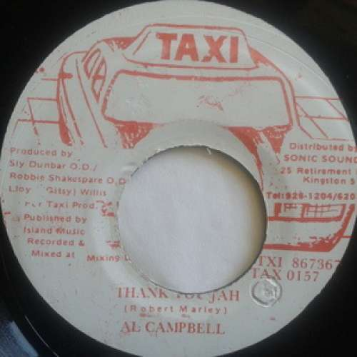 Cover zu Al Campbell - Thank You Jah (7) Schallplatten Ankauf