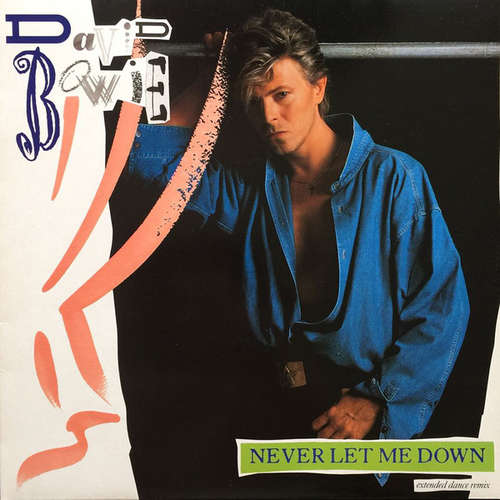 Cover David Bowie - Never Let Me Down (Extended Dance Remix) (12) Schallplatten Ankauf