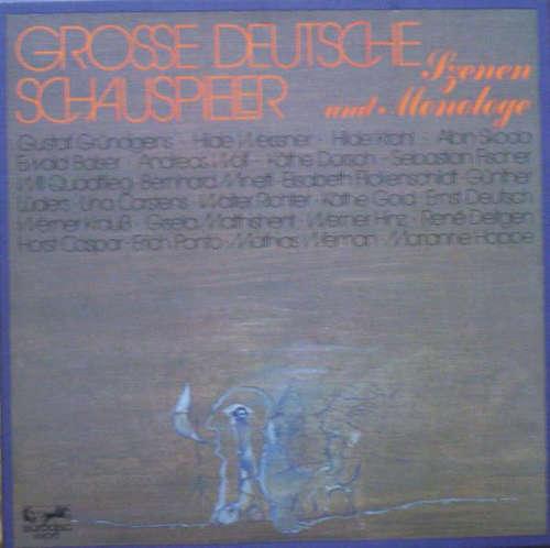 Cover Various - Große Deutsche Schauspieler - Szenen Und Monologe (Box + 3xLP) Schallplatten Ankauf