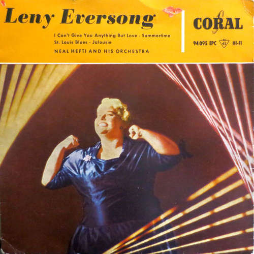 Bild Leny Eversong - I Can't You Give Anything But Love (7, EP) Schallplatten Ankauf