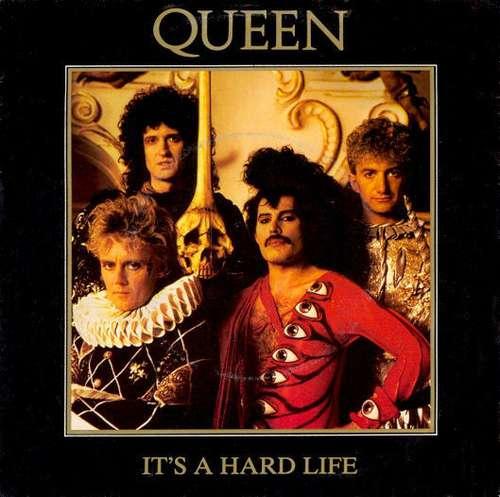 Cover Queen - It's A Hard Life (7, Single) Schallplatten Ankauf