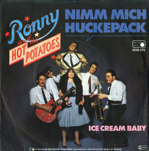 Bild Ronny And The Hot Potatoes - Nimm Mich Huckepack (7) Schallplatten Ankauf