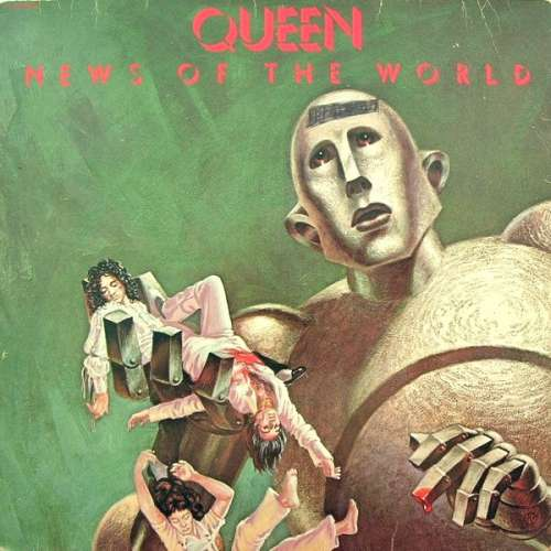 Cover Queen - News Of The World (LP, Album, Gat) Schallplatten Ankauf