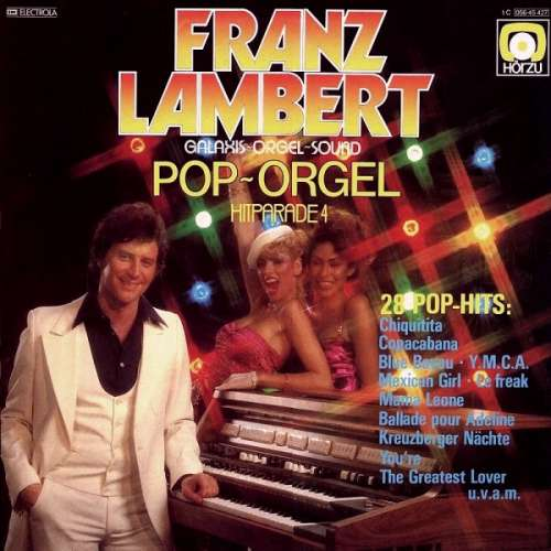Bild Franz Lambert - Pop-Orgel Hitparade 4 (LP, Album) Schallplatten Ankauf