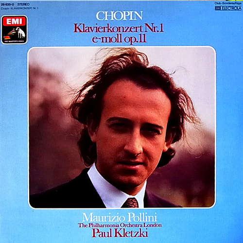 Bild Chopin* - Maurizio Pollini, The Philharmonia Orchestra London*, Paul Kletzki - Klavierkonzert  Nr.1 E~Moll Op.11 (LP, Album, Club, RE, S/Edition) Schallplatten Ankauf