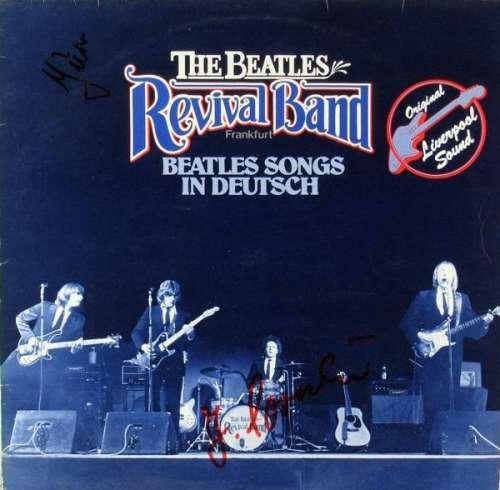 Cover zu The Beatles Revival Band Frankfurt* - Beatles Songs In Deutsch (LP, Album) Schallplatten Ankauf