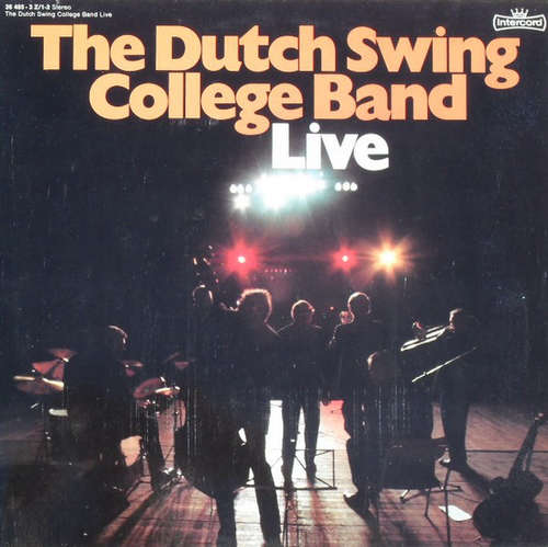 Cover The Dutch Swing College Band - Live (2xLP, Comp) Schallplatten Ankauf