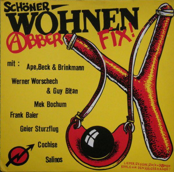Cover Various - Schöner Wohnen - Abber Fix! (LP, Comp) Schallplatten Ankauf
