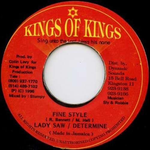 Bild Lady Saw & Determine - Fine Style (7) Schallplatten Ankauf