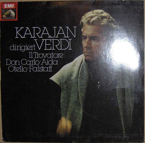 Bild Karajan* dirigiert Verdi* - Il Trovatore - Don Carlo - Aida - Otello - Falstaff (LP, Comp) Schallplatten Ankauf