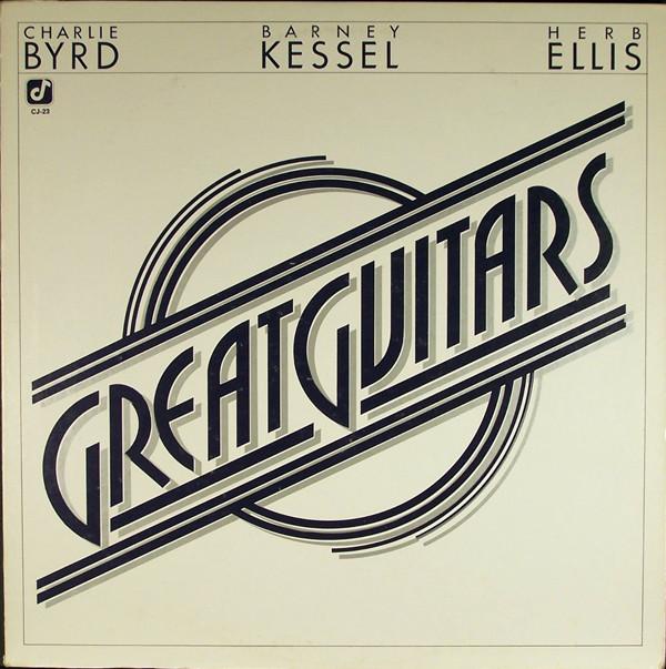 Bild Great Guitars* - Charlie Byrd, Barney Kessel, Herb Ellis - Great Guitars (LP, Album, RE) Schallplatten Ankauf