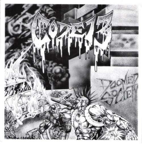 Cover zu Code 13 - Doomed Society (7, Pur) Schallplatten Ankauf