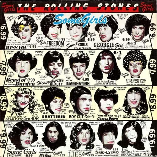Cover Rolling Stones, The - Some Girls (LP, Album) Schallplatten Ankauf