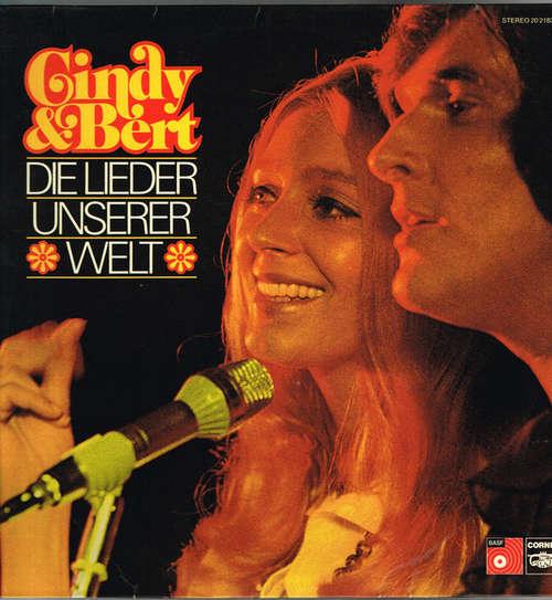 Bild Cindy & Bert - Die Lieder Unserer Welt (LP, Album) Schallplatten Ankauf