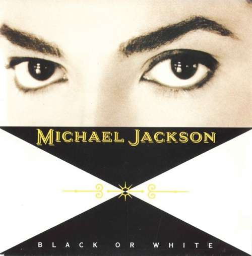 Cover zu Michael Jackson - Black Or White (7, Single) Schallplatten Ankauf