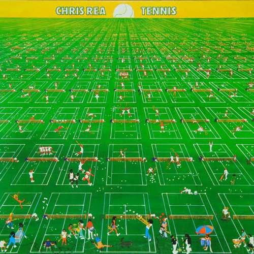 Bild Chris Rea - Tennis (LP, Album) Schallplatten Ankauf