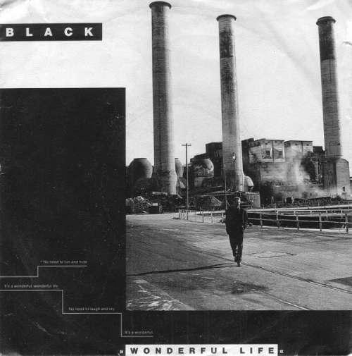 Cover zu Black (2) - Wonderful Life (7, Single) Schallplatten Ankauf