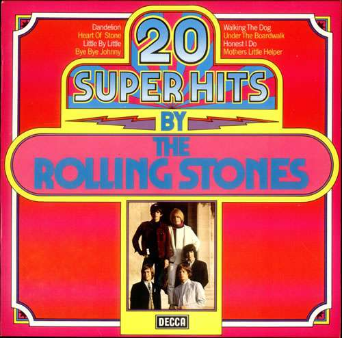 Cover The Rolling Stones - 20 Super Hits By The Rolling Stones (LP, Comp, Club) Schallplatten Ankauf
