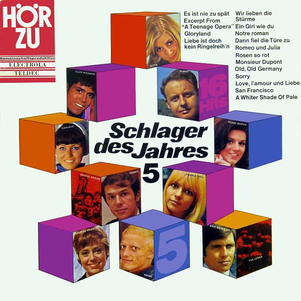 Bild Various - Schlager Des Jahres 5 (LP, Comp) Schallplatten Ankauf