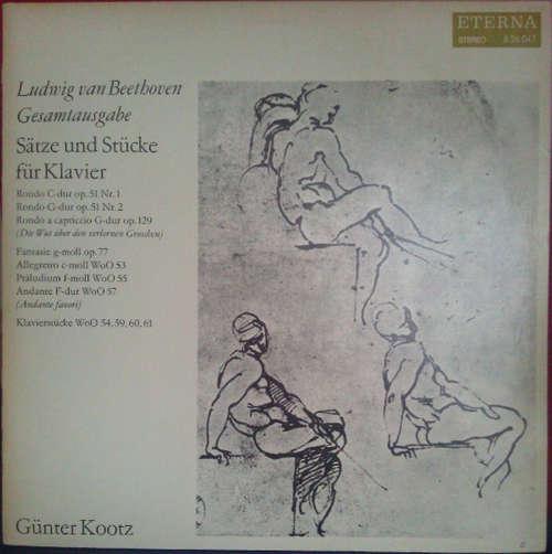 Bild Ludwig van Beethoven, Günter Kootz - Sätze Und Stücke Für Klavier (LP, Album) Schallplatten Ankauf