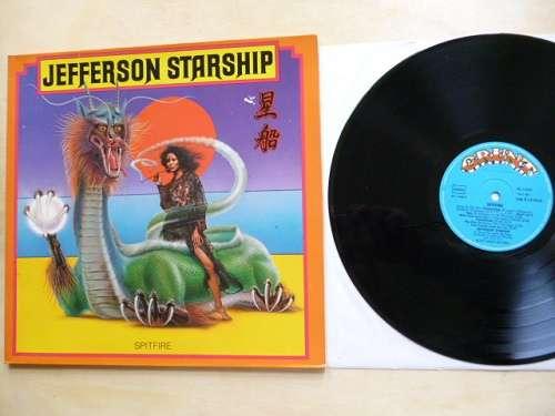 Cover Jefferson Starship - Spitfire (LP, Album, Gat) Schallplatten Ankauf