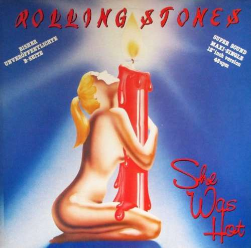 Cover The Rolling Stones - She Was Hot (12, Maxi) Schallplatten Ankauf