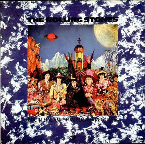 Cover The Rolling Stones - Their Satanic Majesties Request (LP, Album, RE) Schallplatten Ankauf