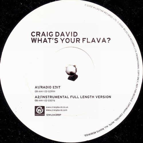 Cover Craig David - What's Your Flava? (12, Promo) Schallplatten Ankauf