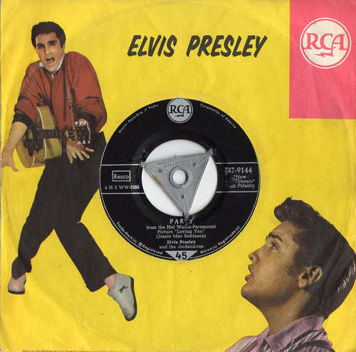 Cover Elvis Presley And The Jordanaires - Party / Got A Lot O' Livin' To Do (7, Single) Schallplatten Ankauf