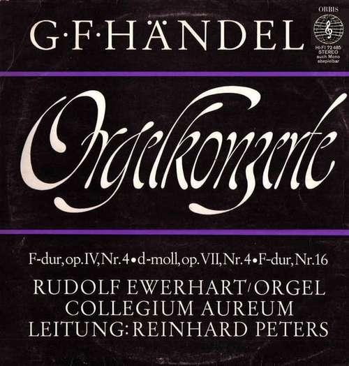 Bild G. F. Händel* - Orgelkonzerte (LP) Schallplatten Ankauf