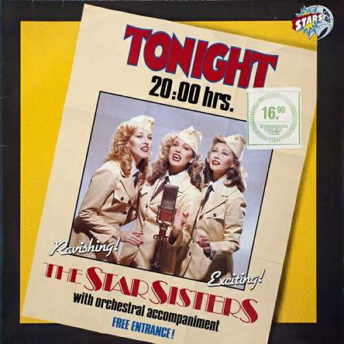 Bild Stars On 45 Proudly Presents The Star Sisters - Tonight 20:00 Hrs. (LP, Album) Schallplatten Ankauf