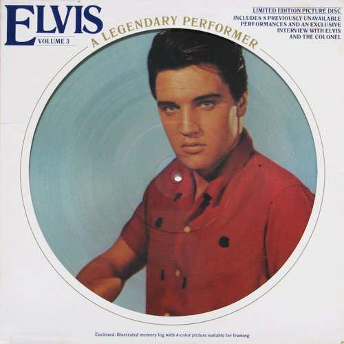 Cover Elvis Presley - A Legendary Performer - Volume 3 (LP, Ltd, Pic) Schallplatten Ankauf