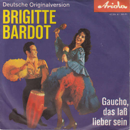 Cover zu Rolf Peer Und Die Ping Pongs* - Brigitte Bardot (7, Single) Schallplatten Ankauf