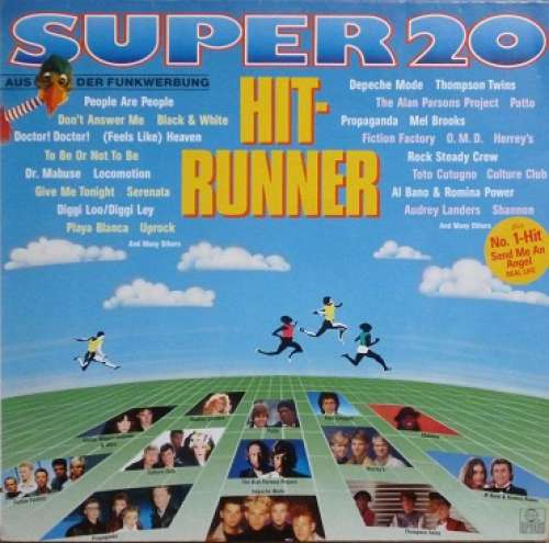 Bild Various - Super 20 - Hit-Runner  (LP, Comp) Schallplatten Ankauf
