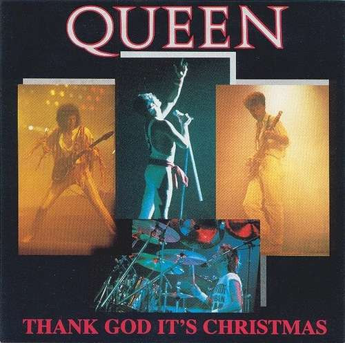 Cover Queen - Thank God It's Christmas (7, Single) Schallplatten Ankauf