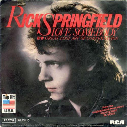 Cover zu Rick Springfield - Love Somebody (7, Single) Schallplatten Ankauf