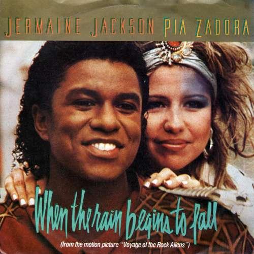 Bild Jermaine Jackson, Pia Zadora - When The Rain Begins To Fall (7, Single) Schallplatten Ankauf