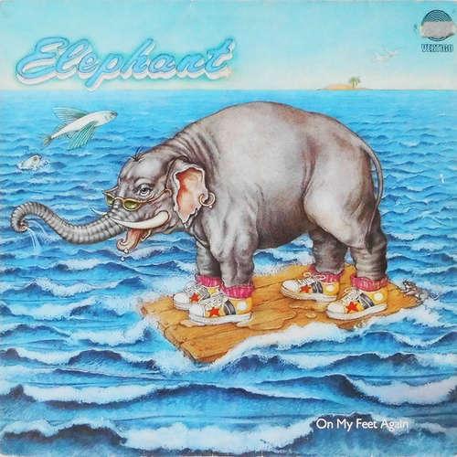 Cover zu Elephant (3) - On My Feet Again (LP, Album) Schallplatten Ankauf