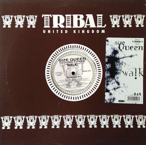 Cover Size Queen Featuring Paul Alexander - Walk! (12) Schallplatten Ankauf