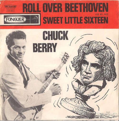 Cover zu Chuck Berry - Roll Over Beethoven / Sweet Little Sixteen (7, Single, Bla) Schallplatten Ankauf