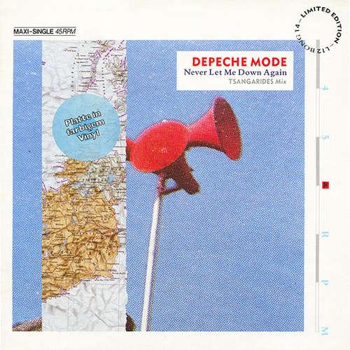 Cover Depeche Mode - Never Let Me Down Again (Tsangarides Mix) (12, Maxi, Ltd, Gre) Schallplatten Ankauf