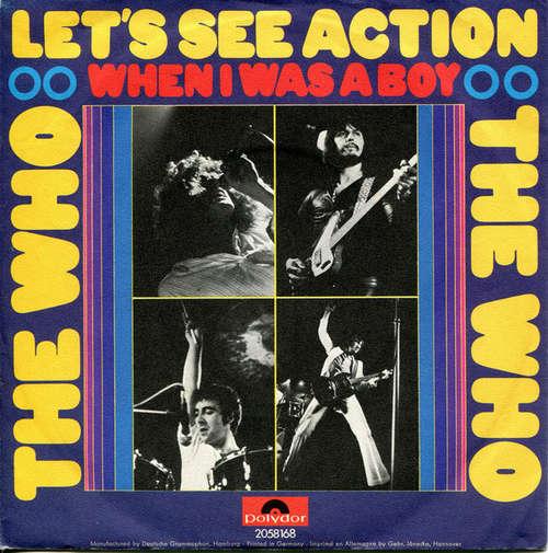 Bild The Who - Let's See Action (7, Single) Schallplatten Ankauf