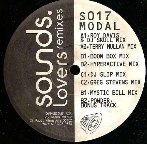 Cover Modal - Lovers Remixes (2x12) Schallplatten Ankauf