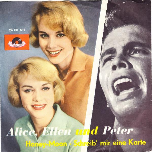 Bild Alice, Ellen* Und Peter* - Honey-Moon / Schreib' Mir Eine Karte (7, Single, Mono) Schallplatten Ankauf