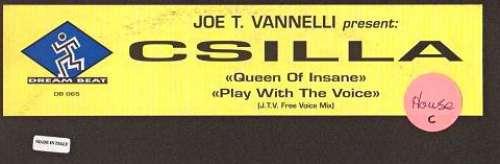 Cover Joe T. Vannelli Presents Csilla - Play With The Voice / Queen Of Insane (2x12) Schallplatten Ankauf