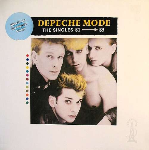 Cover Depeche Mode - The Singles 81 → 85 (LP, Comp, Gre) Schallplatten Ankauf