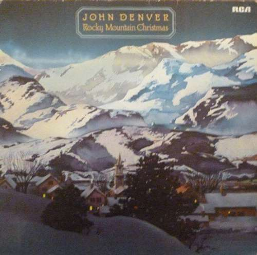 Cover zu John Denver - Rocky Mountain Christmas (LP, Album, RP) Schallplatten Ankauf