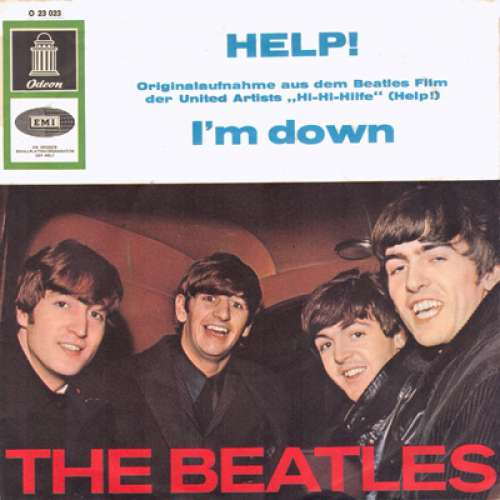 Cover The Beatles - Help! (7, Single, Mono) Schallplatten Ankauf